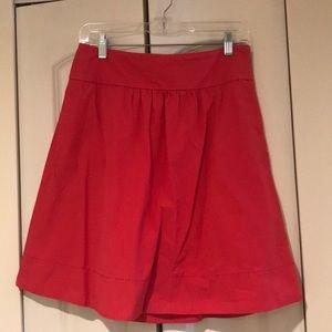 J. Crew a line skirt
